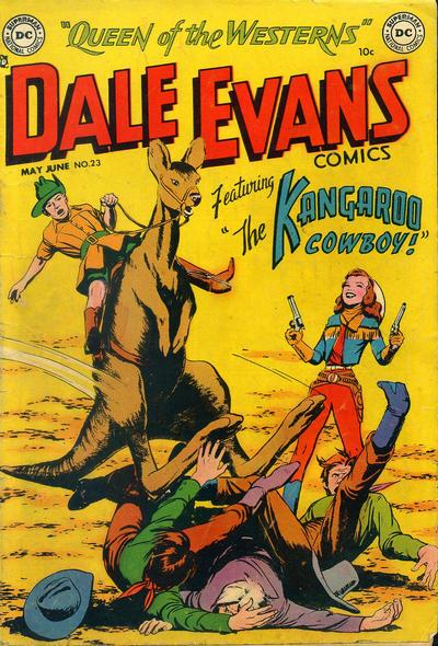 Cover for Dale Evans Comics (DC, 1948 series) #23