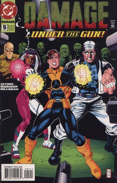 Cover for Damage (DC, 1994 series) #5