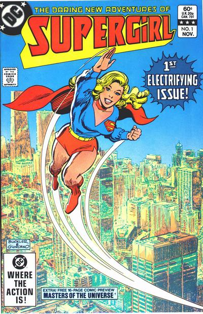 Cover for The Daring New Adventures of Supergirl (DC, 1982 series) #1 [Direct Sales]