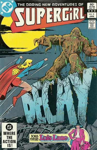 Cover for The Daring New Adventures of Supergirl (DC, 1982 series) #3 [Direct]
