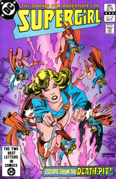 Cover for The Daring New Adventures of Supergirl (DC, 1982 series) #12 [Direct-Sales]