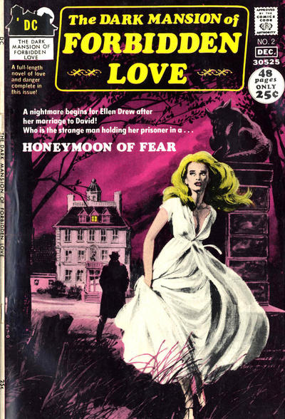 Cover for The Dark Mansion of Forbidden Love (DC, 1971 series) #2