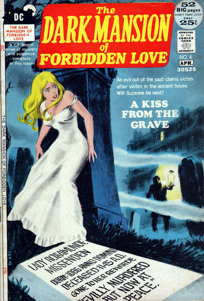 Cover for The Dark Mansion of Forbidden Love (DC, 1971 series) #4