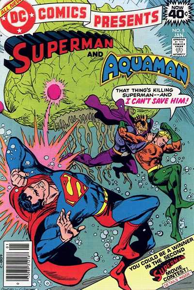 Cover for DC Comics Presents (DC, 1978 series) #5