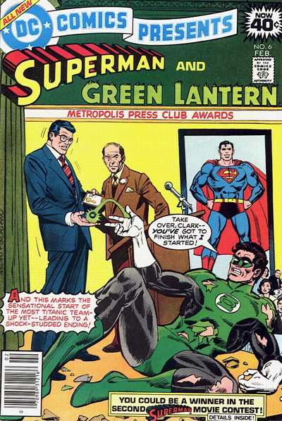 Cover for DC Comics Presents (DC, 1978 series) #6
