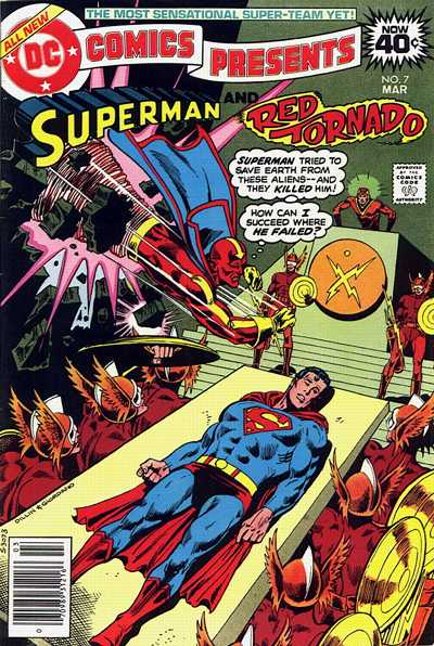 Cover for DC Comics Presents (DC, 1978 series) #7