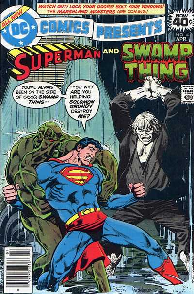 Cover for DC Comics Presents (DC, 1978 series) #8