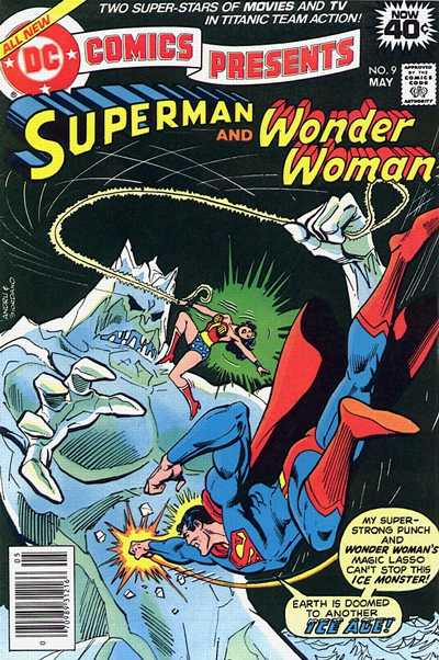 Cover for DC Comics Presents (DC, 1978 series) #9 [Whitman Variant]