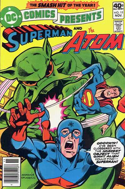 Cover for DC Comics Presents (DC, 1978 series) #15