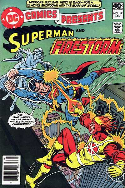 Cover for DC Comics Presents (DC, 1978 series) #17