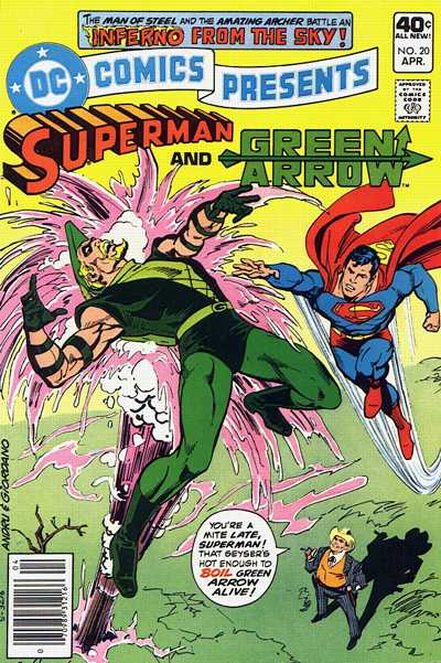 Cover for DC Comics Presents (DC, 1978 series) #20