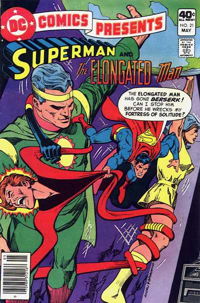 Cover for DC Comics Presents (DC, 1978 series) #21 [Whitman Variant]