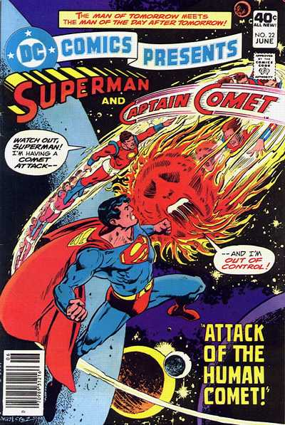 Cover for DC Comics Presents (DC, 1978 series) #22
