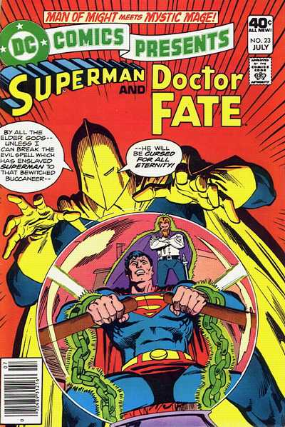 Cover for DC Comics Presents (DC, 1978 series) #23