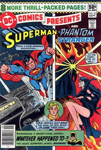 Cover for DC Comics Presents (DC, 1978 series) #25