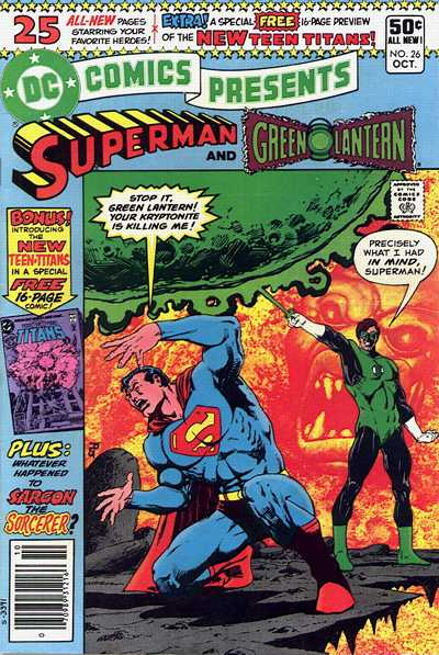 Cover for DC Comics Presents (DC, 1978 series) #26 [Direct Sales Variant]