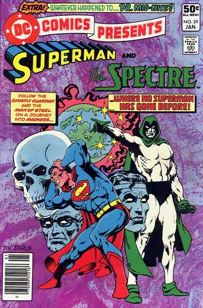 Cover for DC Comics Presents (DC, 1978 series) #29 [Direct]