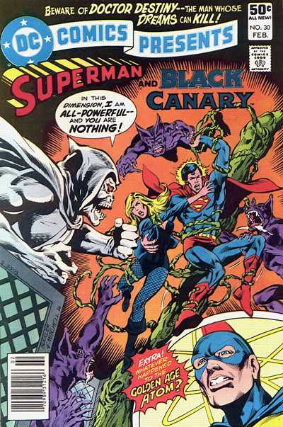 Cover for DC Comics Presents (DC, 1978 series) #30 [Direct Sales]