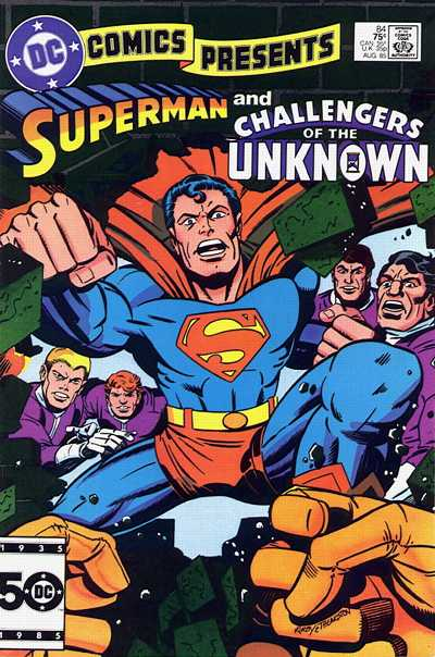 Cover for DC Comics Presents (DC, 1978 series) #84