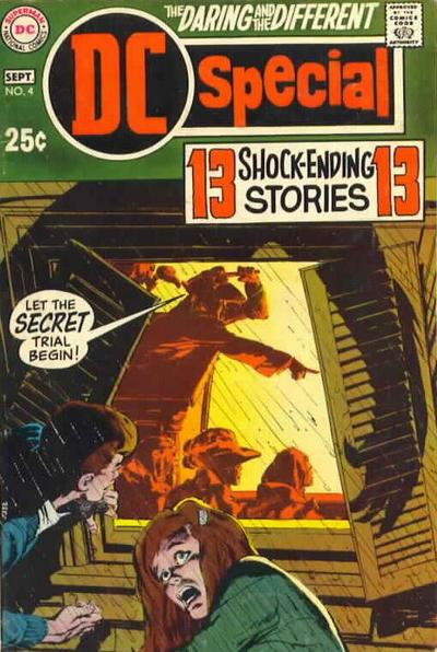 Cover for DC Special (DC, 1968 series) #4