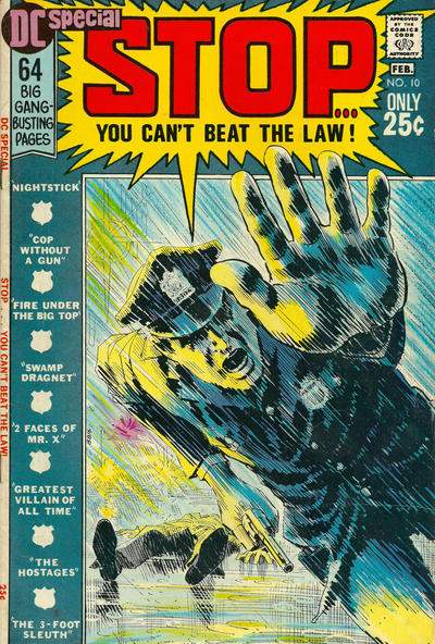 Cover for DC Special (DC, 1968 series) #10