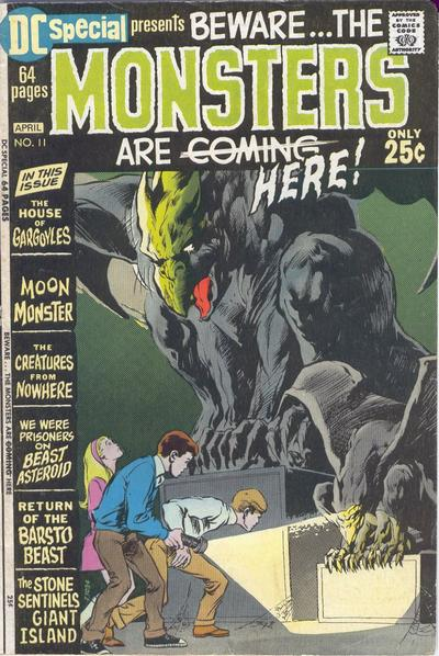 Cover for DC Special (DC, 1968 series) #11
