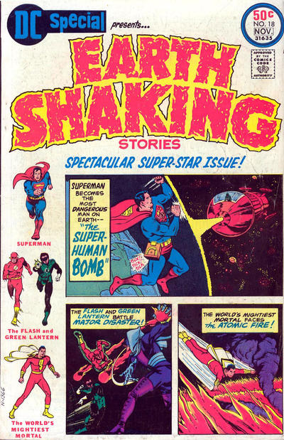 Cover for DC Special (DC, 1968 series) #18