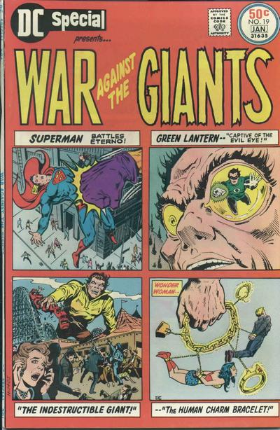 Cover for DC Special (DC, 1968 series) #19
