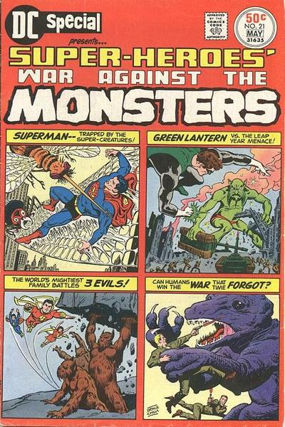 Cover for DC Special (DC, 1968 series) #21