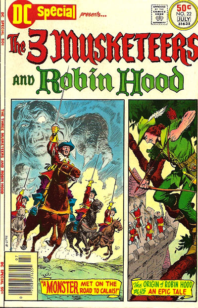 Cover for DC Special (DC, 1968 series) #22
