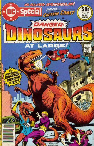 Cover for DC Special (DC, 1968 series) #27