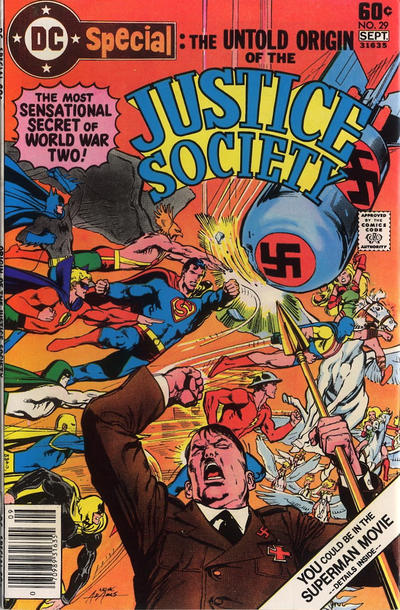 Cover for DC Special (DC, 1968 series) #29