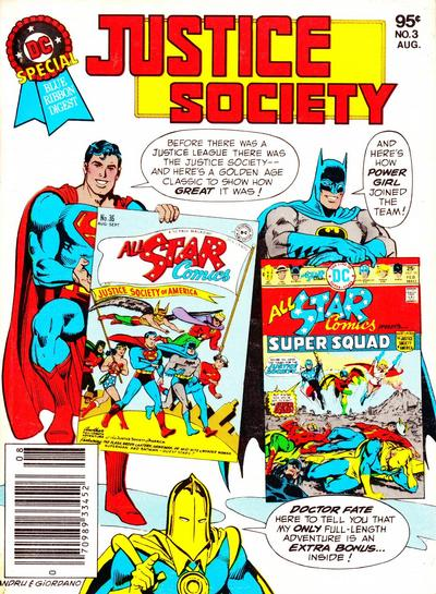 Cover for DC Special Blue Ribbon Digest (DC, 1980 series) #3