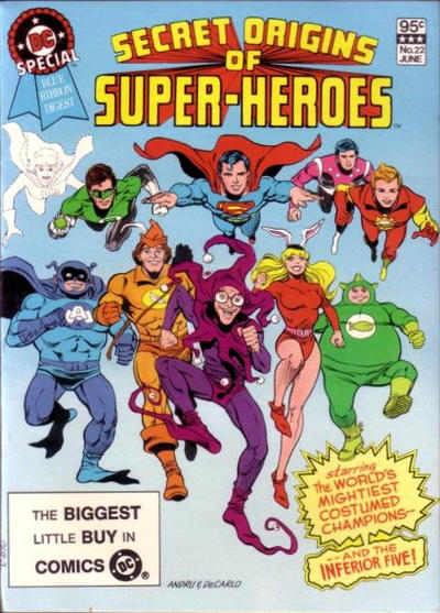 Cover for DC Special Blue Ribbon Digest (DC, 1980 series) #22 [Newsstand]