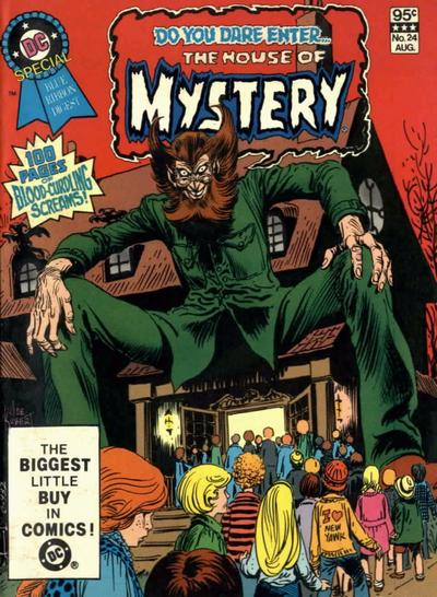 Cover for DC Special Blue Ribbon Digest (DC, 1980 series) #24 [Newsstand]