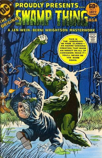 Cover for DC Special Series (DC, 1977 series) #2 - The Original Swamp Thing Saga