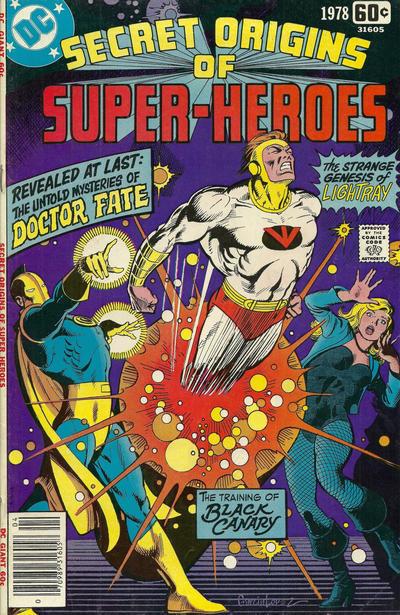 Cover for DC Special Series (DC, 1977 series) #10 - Secret Origins of Super-Heroes
