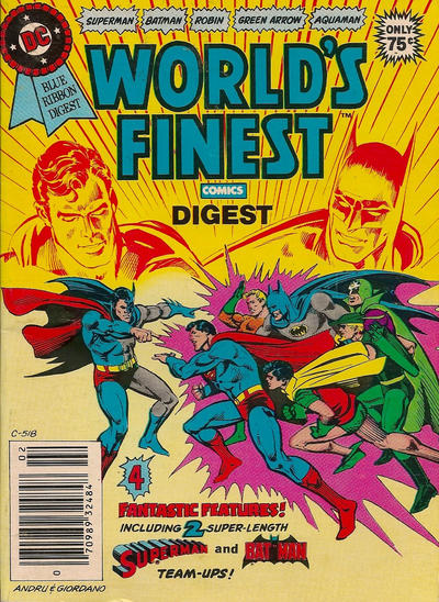 Cover for DC Special Series (DC, 1977 series) #23 - World's Finest Comics Digest [Direct]