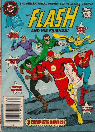 Cover for DC Special Series (DC, 1977 series) #24 - The Flash and His Friends! [Direct]