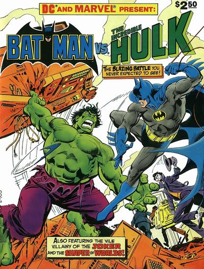 Cover for DC Special Series (DC, 1977 series) #27 - Batman vs. The Incredible Hulk
