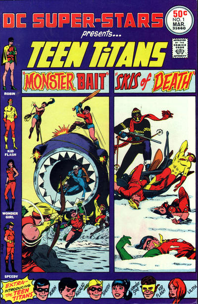 Cover for DC Super Stars (DC, 1976 series) #1