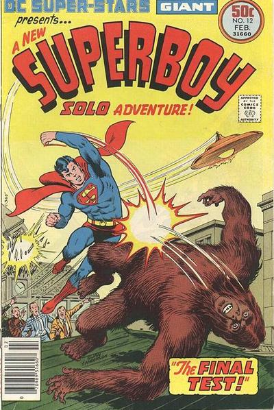 Cover for DC Super Stars (DC, 1976 series) #12