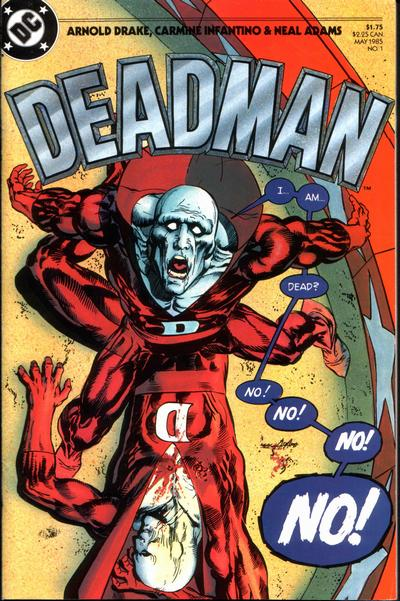 Cover for Deadman (DC, 1985 series) #1