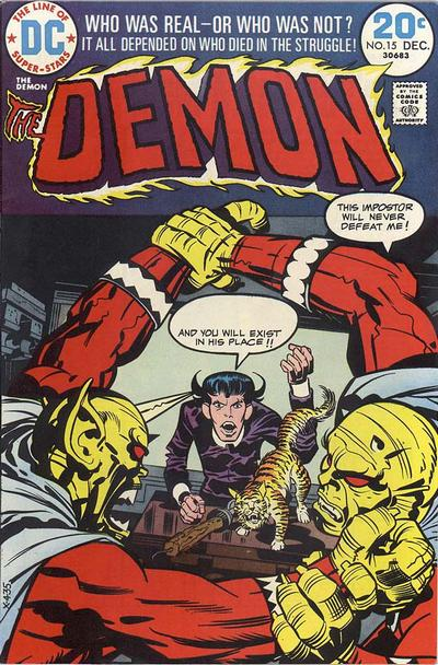 Cover for The Demon (DC, 1972 series) #15