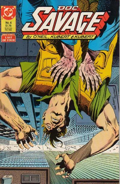 Cover for Doc Savage (DC, 1987 series) #4