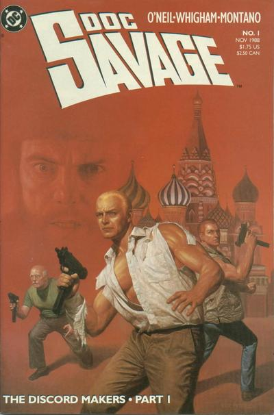 Cover for Doc Savage (DC, 1988 series) #1