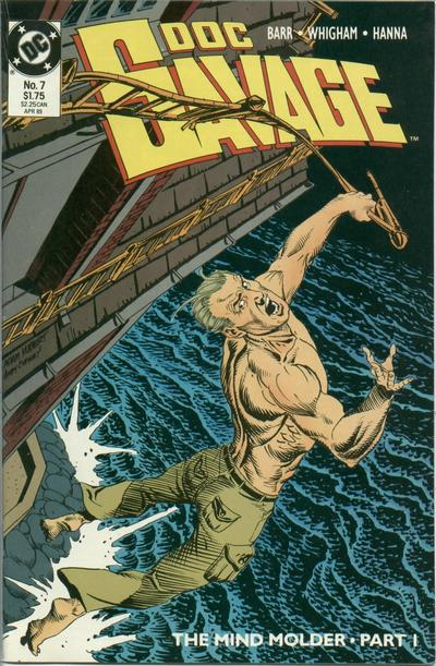 Cover for Doc Savage (DC, 1988 series) #7