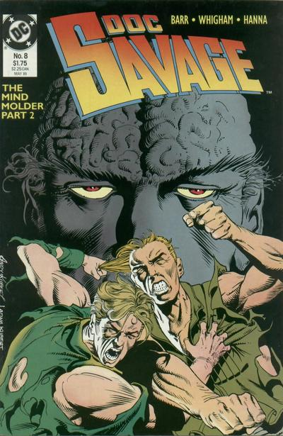 Cover for Doc Savage (DC, 1988 series) #8