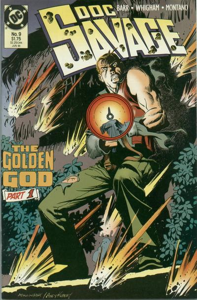 Cover for Doc Savage (DC, 1988 series) #9