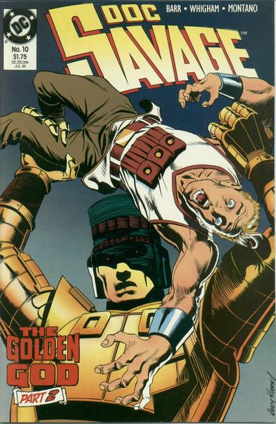 Cover for Doc Savage (DC, 1988 series) #10